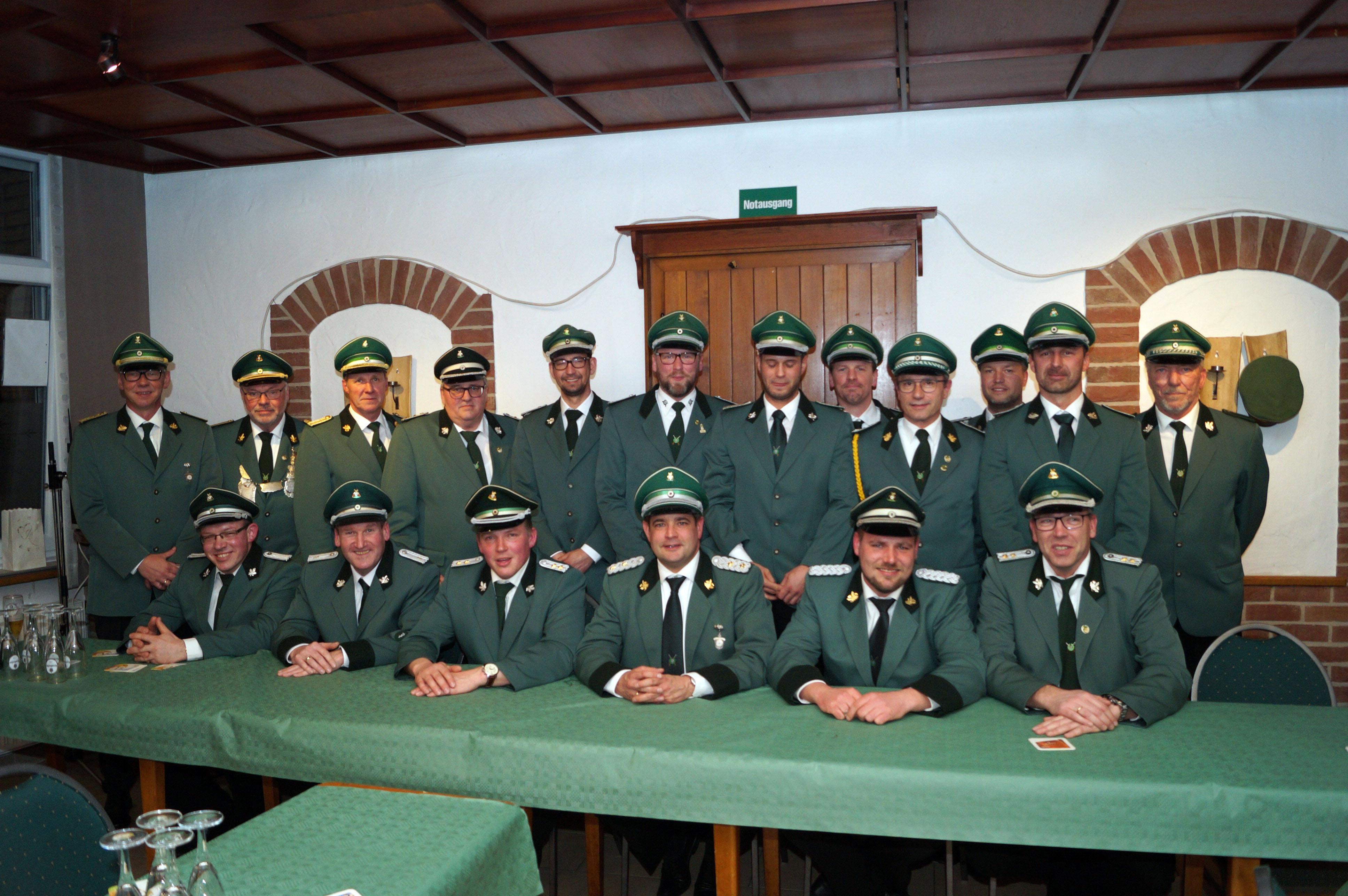 Offizierskorps bei Jahreshauptversammlung bestätigt