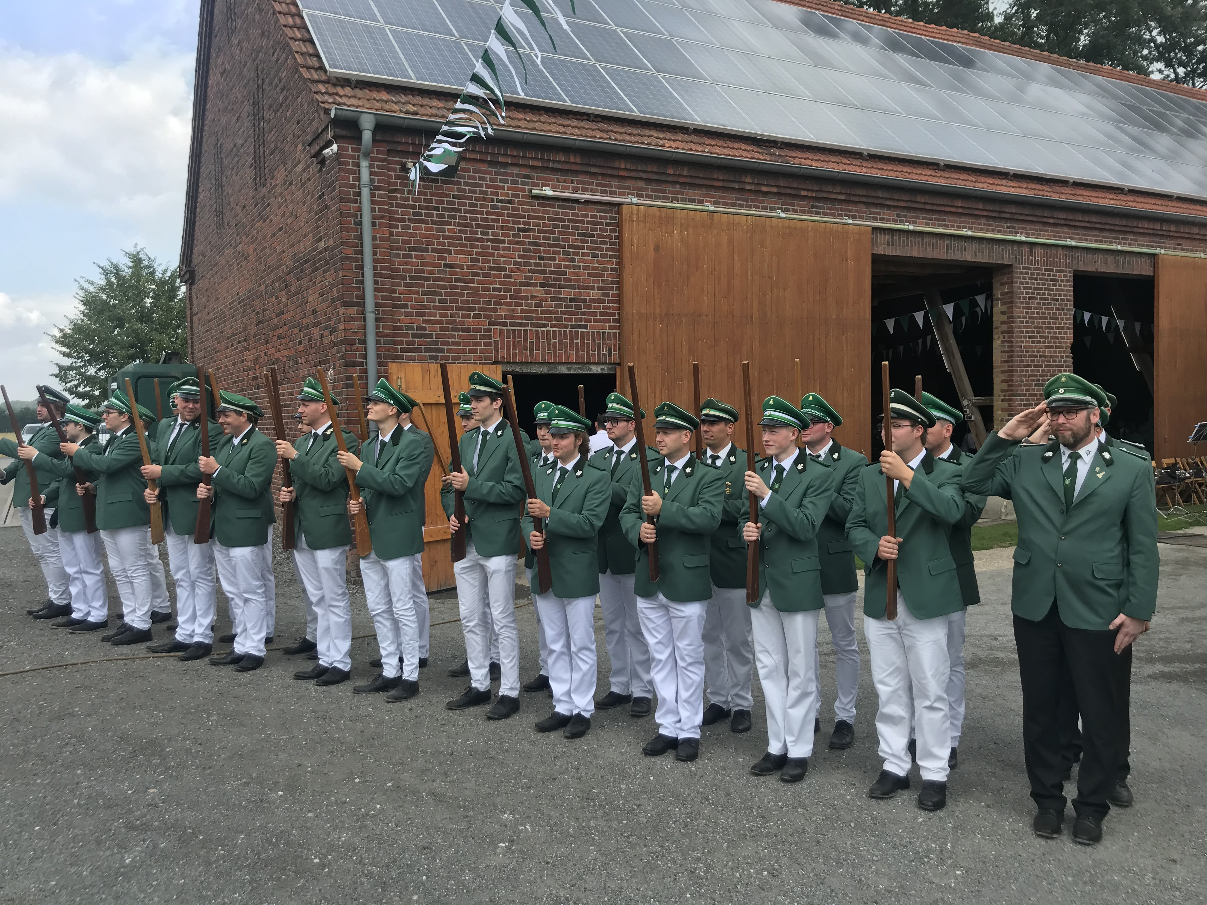 Gelungene Generalprobe für das Schützenfest
